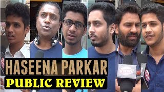 HASEENA PARKAR PUBLIC REVIEW | REACTION | FIRST DAY FIRST SHOW | Shraddha Kapoor