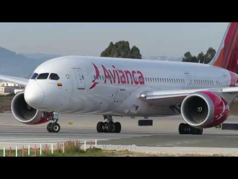 Xxx Mp4 HD 1080p Avianca Boeing 787 Barcelona El Prat BCN LEBL 3gp Sex