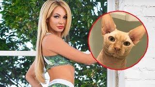 Instagram-Model verliert 3.000 Abos, weil sie DAS mit ihrer Katze getan hat!