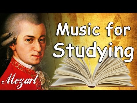 Mozart Classical Music for Studying Concentration Relaxation Study Music Piano Instrumental