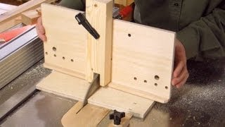 Table saw dovetail jig build 1/2
