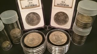 Morgan Silver Dollars, Peace Dollar, & Other 90% Collection!!