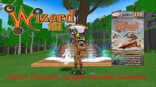Wizard 101 NEW Fantastic Voyage Gauntlet Showcase Pet Mount Gear
