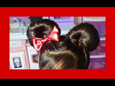 Orejitas De Minnie Mouse Minnie Mouse Buns