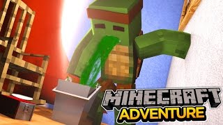Minecraft Adventure - TINYTURTLE GETS A VOMITING BUG!
