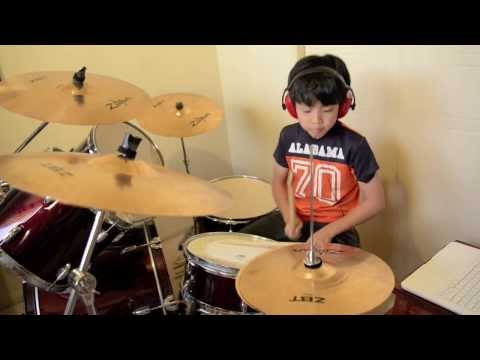 Highway Star Deep Purple Drum Cover By 10 Year Old Joh Kotoda
