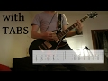 Linkin Park - Lying From You Guitar Cover w/Tabs on screen