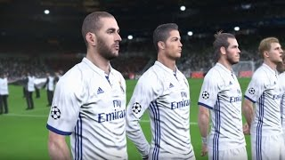 REAL MADRID vs BAYERN MÜNCHEN CL 2ND LEG MATCH SIMULATION + LIVE COMMENTARY PES 2017
