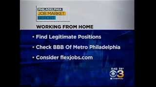 Finding a Work-from-Home Job in Philadelphia with FlexJobs, via CBS Philadelphia