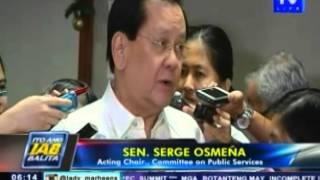 Tanim-bala probe ng Senado, uumpisahan na sa Huwebes