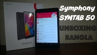 Symphony SYMTAB 50 Unboxing & First Impression Bangla
