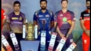 IPl  2017 opening ceremony   captains signing the bats   IPL 10 opening