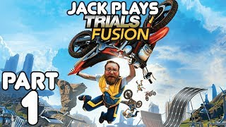 Jack beats Trials Fusion! Full playthrough!