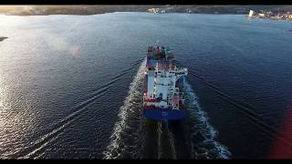 SPICA J  CONTAINER SHIP - 4K VIDEO