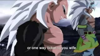 Dragon Ball Absalon Goku Turns SSJ5