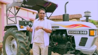 Eicher 548   Ek powerful tractor  Watch testimonial in Chhatisghar
