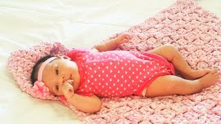 Glama's c2c Hoodie Baby Blanket (Inc & Dec Instructions)