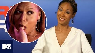 GIRLS TRIP | Jada Pinkett Smith Reveals Funniest R-Rated Moments Behind The Scenes 😂 | MTV Movies