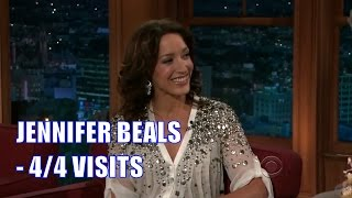 Jennifer Beals - Craig Is The Only Reason She Does Talkshows - 4/4 Visits In Chron. Order [Good Q]