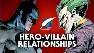 On Writing: hero-villain relationships [ Batman Joker l Sherlock Moriarty l Doctor Master ]