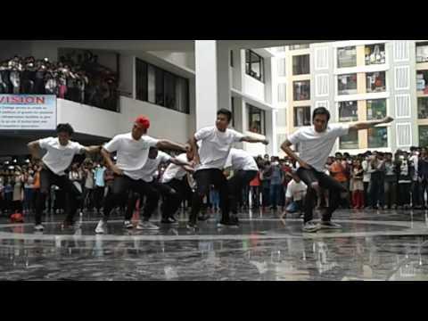 Wild rippers crew @ viva College virar mumbai of dance + season 2