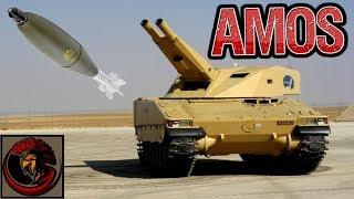 Advanced Mortar System (AMOS) - Twin Barrel 120mm Mortar