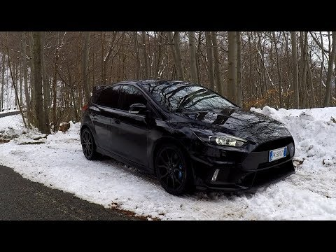 A Day with the Ford Focus RS Review Sub ENG