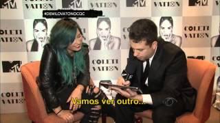 Demi Lovato Judges Brazilian Musicians As An