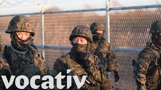 U.S. And South Korea Combine Forces For Military Exercise