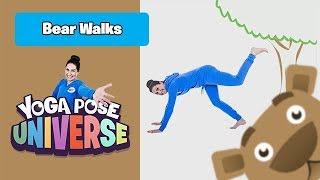 Bear Walks   Cosmic Kids Yoga Pose Universe!