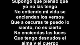 Alejandro Sanz   Cuando nadie me ve (con la letra)