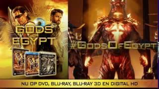 GODS OF EGYPT op DVD, BLU-RAY, BLU-RAY 3D & DIGITAL HD
