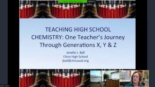 Teaching High School Chemistry: One Teacher's Journey Through Generations X, Y & Z