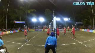 MGCUP 3 Methuk (kretek) vs Nambangan (Punong) Turnamen bola VOLI Bantul