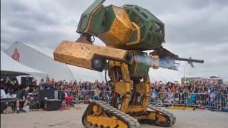 La Impactante Pelea de Robots entre Japon y USA (Ya Existe un Ganador!)