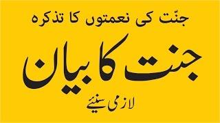 Islamic Bayan   Jannat Ka Bayan by Haji Ubaid Raza Attari