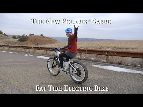 Sabre & Nordic Fat Tire, POLARIS® Electric Bikes