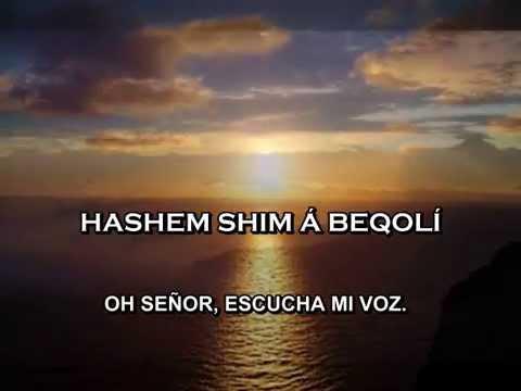 SALMO 130 EN HEBREO CANTA HAIM ISRAEL MIMA AMAQUIM