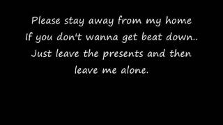 Blink 182- I Wont Be Home For Christmas(With Lyrics)