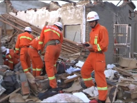 Search and Rescue Efforts Ccontinue in Tornado Hit East China