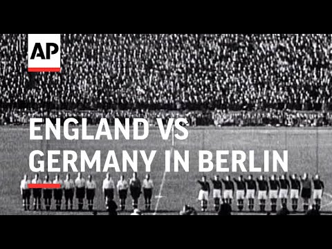 Xxx Mp4 England V Germany Football Match In Berlin 1938 3gp Sex