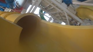Raging Rapids Super Flume Tube Slide (HD POVS) Caribbean Cove Indoor Water Park & Hotel