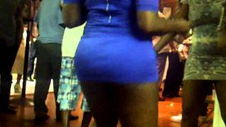 big ass in mini skirt shaking her ass labor day weekend guyanese party (2011)