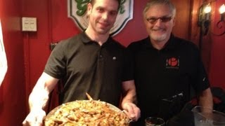 The Bear vs The 15lb Heart Attack Poutine Challenge!