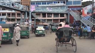Sylhet City, New Bridge and Zindabazar