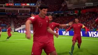 PORTUGAL vs. IR IRAN  - FIFA WORLD CUP RUSSIA 2018  {FULL GAMEPLAY PS4)
