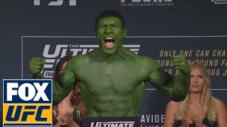 Ion Cutelaba enters as The Hulk vs. Jared Cannonier | TUF 24 Finale Weigh-In
