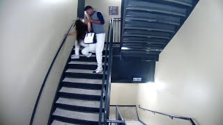 Footage released of pro baseball player beating girlfriend
