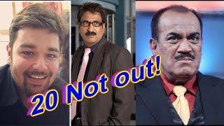 Sony TV show CID Completes 20 years | shivaji satam | dayanand shetty | aditya shrivastava