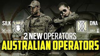 Rainbow Six Siege Australian Operators Silk & DNA Special Forces TAG Year 3 Season 3 Fan made